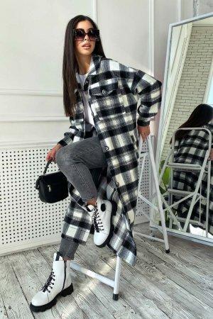 Пальто-рубашка 4588