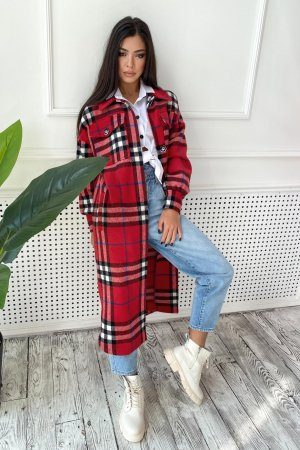Пальто-рубашка 4586