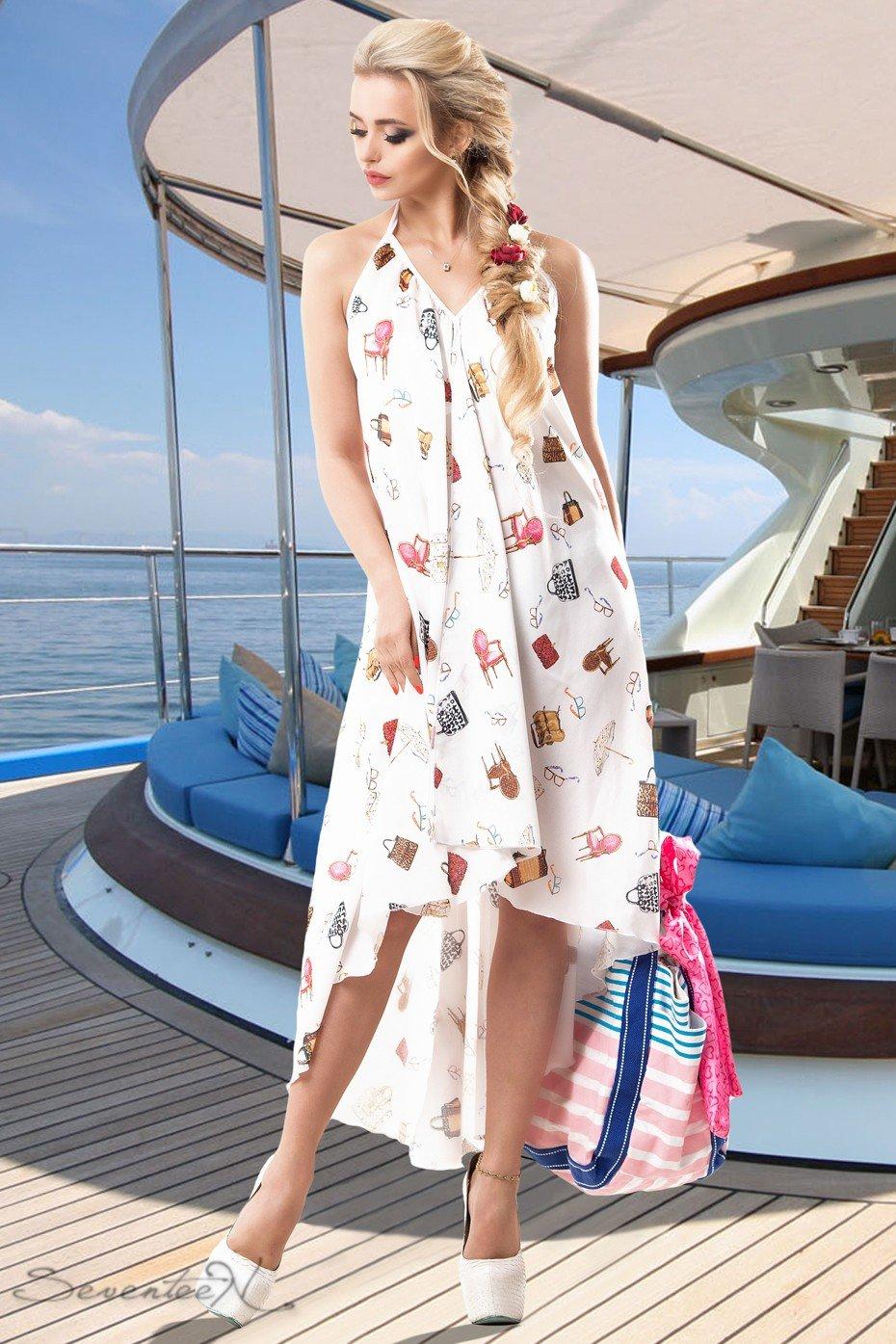 Платье для пляжа шифон