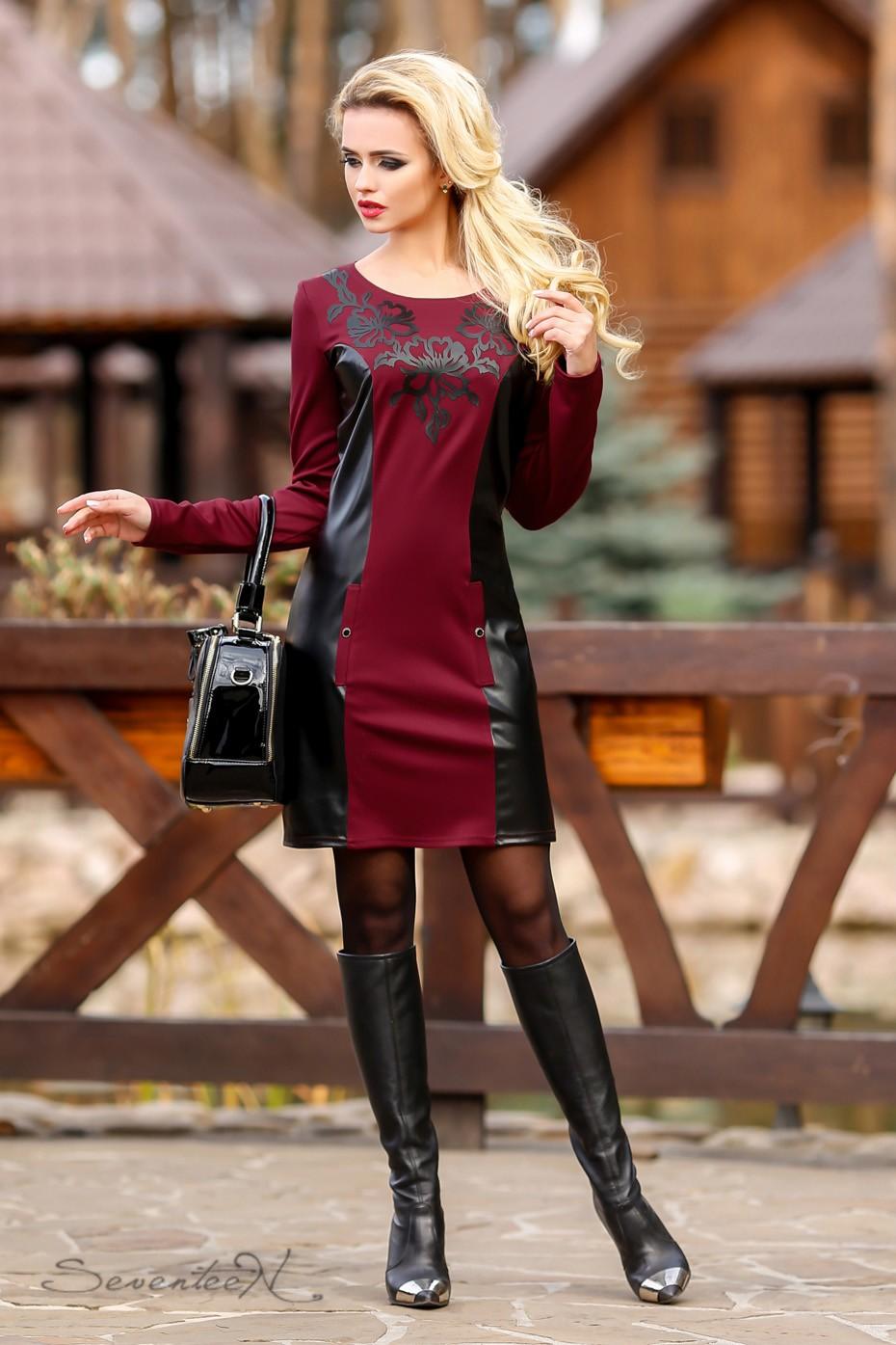 Эко платье 35